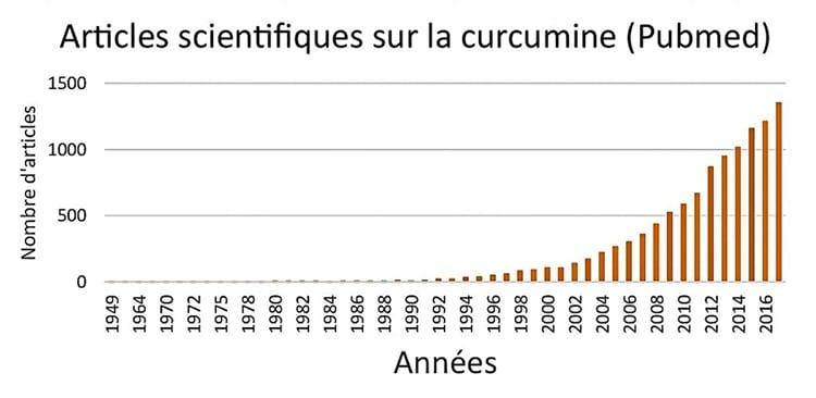 publications scientifiques sur la curcumine