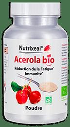Acerola poudre vitamine C Nutrixeal