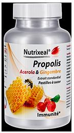 Propolis Acerola Gingembre vitamine C Nutrixeal