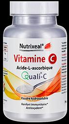 quali-c vitamine C Nutrixeal, acide ascorbique en poudre.
