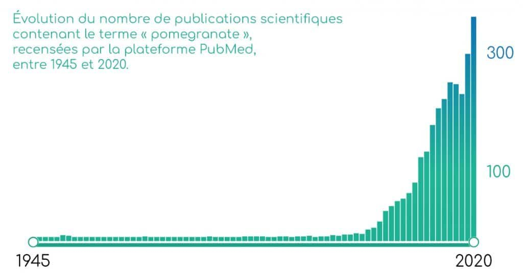 Publications scientifiques sur la grenade