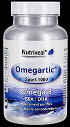 omegartic sport 1000 omega-3 Nutrixeal, epa et dha.