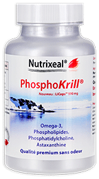 Phosphokrill omega-3 Nutrixeal, avec astaxanthine, licaps.