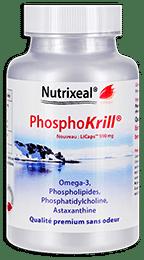 Phosphokrill omega-3 Nutrixeal, avec astaxanthine, licaps.