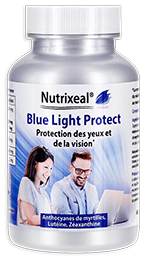 Blue Light Proctect Nutrixeal, complexe lumière bleue avec lutéine, myrtille, zinc.