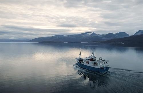 Le Calanus est récolté au large des côtes norvégiennes.