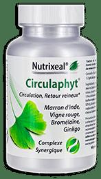 Circulaphyt Nutrixeal, extraits végétaux pour la circulation.