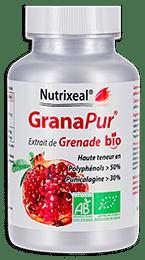 Granapur Nutrixeal, grenade bio riche polyphénols et punicalagine.
