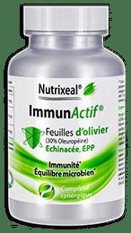 Immunactif Nutrixeal, complexe immunité avec feuilles d'olivier, oleuropéine, échinacée et EPP.