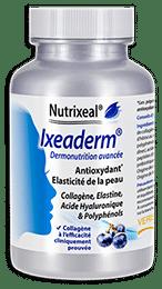 Ixeaderm Nutrixeal, dermonutrition avec collagène, élastine, acide hyaluronique et OPC.