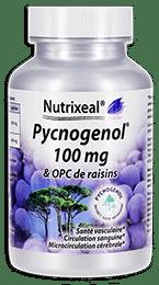 Pycnogenol Nutrixeal, avec OPC de raisins.