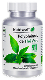 Thé Vert riche en polyphénols Bio, Nutrixeal Info.