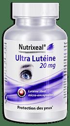 Ultra lutéine Nutrixeal, lutéine libre microencapsulée.