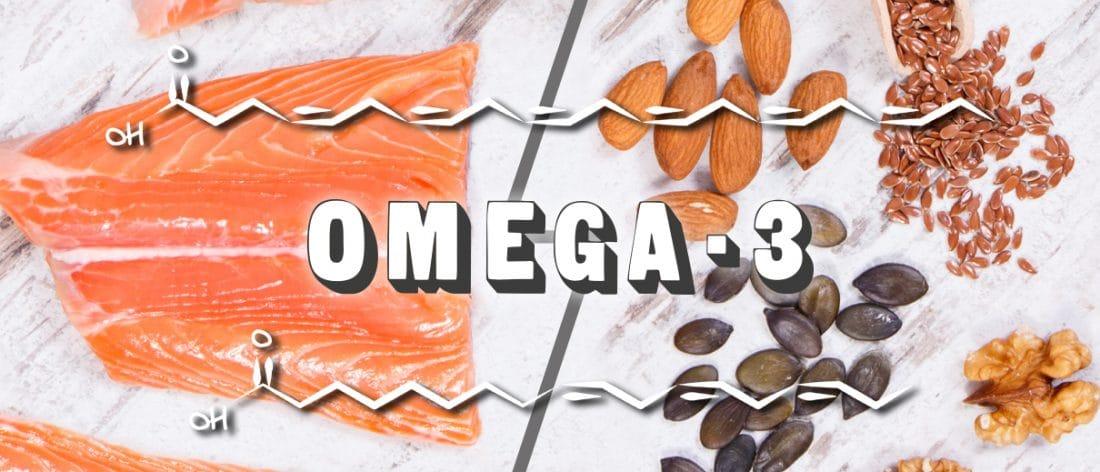 Apports en omega-3 ALA et DHA par les huiles végétales.