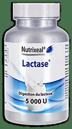 La lactase Nutrixeal est dosée à 5000 U.