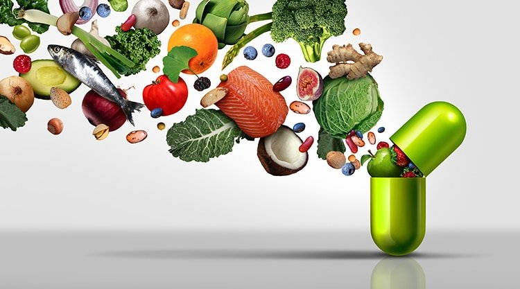 La micronutrition vient en complément de l'alimentation