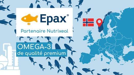 Epax, spécialiste mondial des omega-3 d'origine marine, est partenaire du laboratoire Nutrixeal.