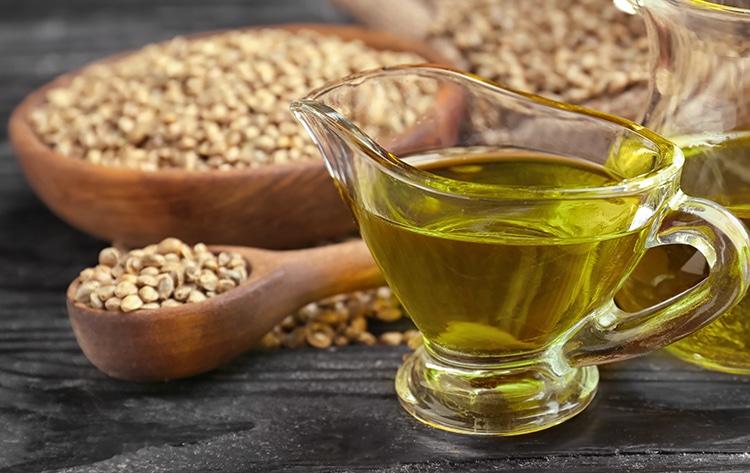 L'huile de graine de chanvre contient des omega-3 SDA.
