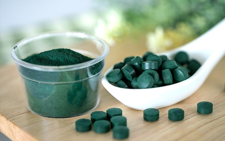 La spiruline contient des omega-3 SDA