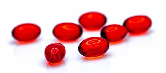 Capsules d'huile de krill, plus digestes que l'huile de poisson