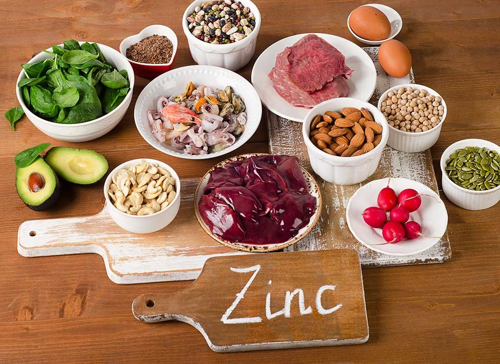 Zinc sources alimentaires Nutrixeal-Info