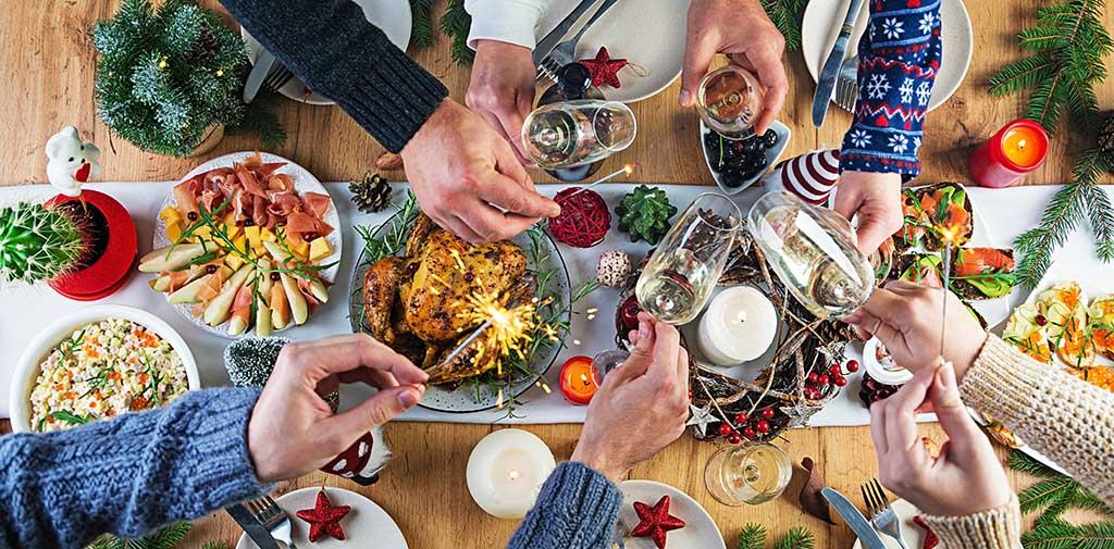 Repas de fête Nutrixeal Info un défi pour les enzymes digestives