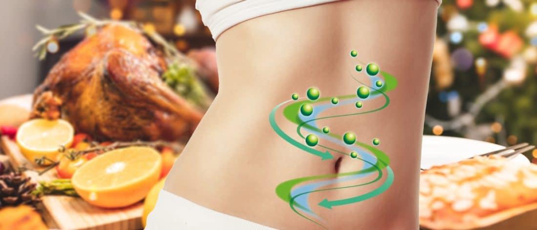Enzymes digestives et repas de fête