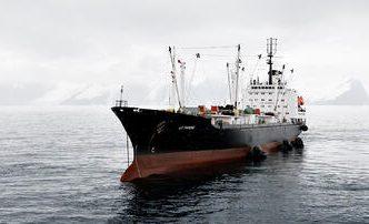 Vaisseau pêche Krill antarctique Aker Biomarine