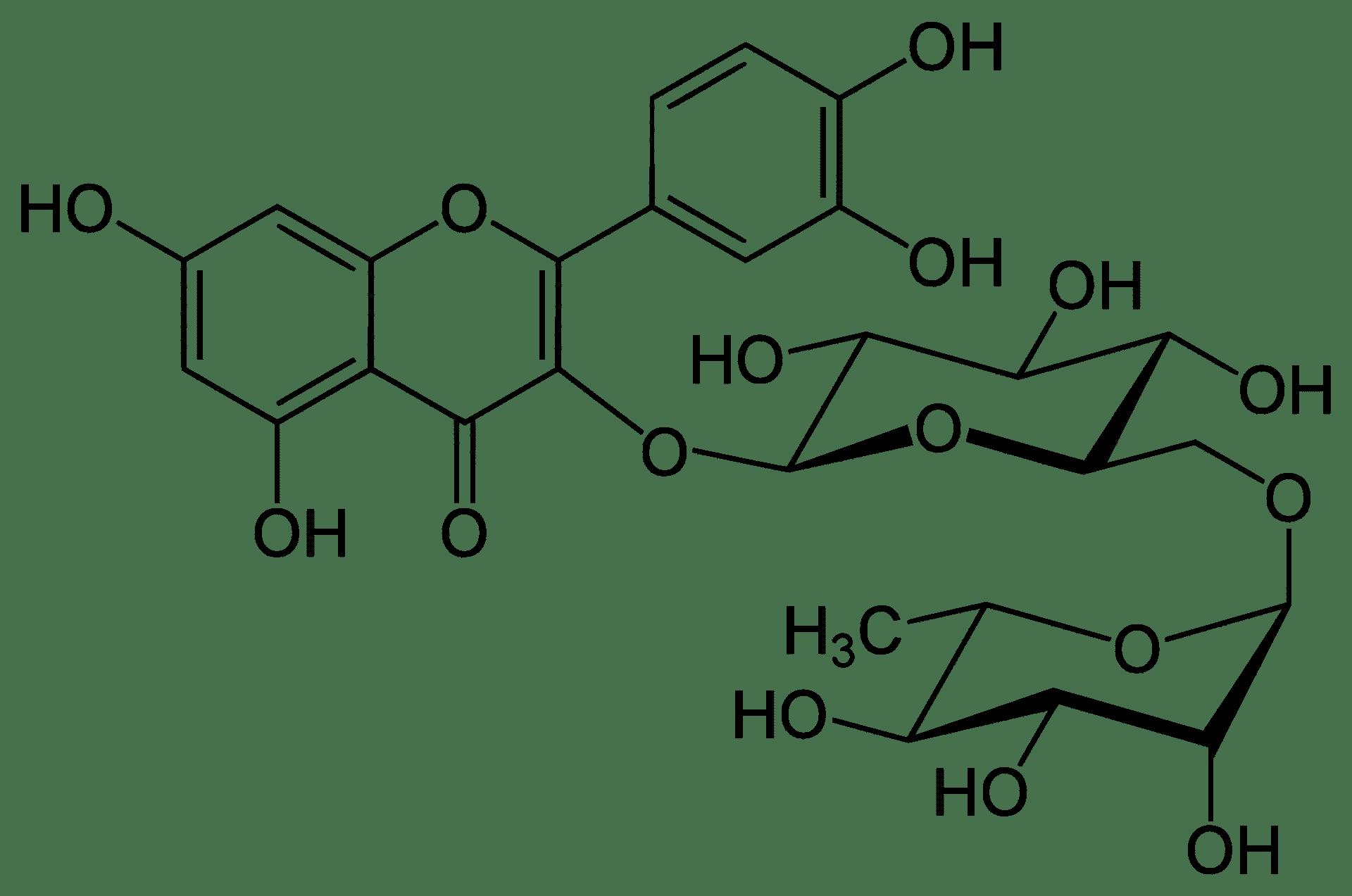 rutine diglycoside de quercetine