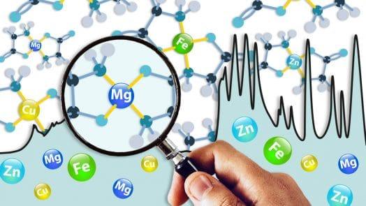 Mineraux chelates et methode traacs : fer_zinc_cuivre_magnésium
