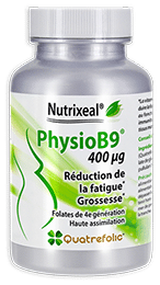 PhysioB9 vitamines B9 folates quatrefolic Nutrixeal Info
