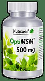 OptiMSM Nutrixeal MSM Méthylsulfonylméthane 500 mg
