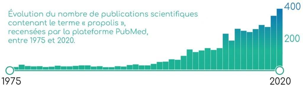 Publications scientifiques sur la propolis