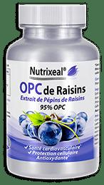 OPC de raisins Nutrixeal, extrait de pépins de raisins.