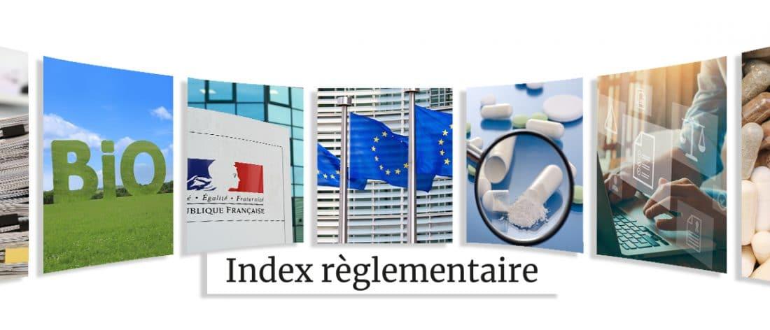 Index reglementaire Nutrixeal Info