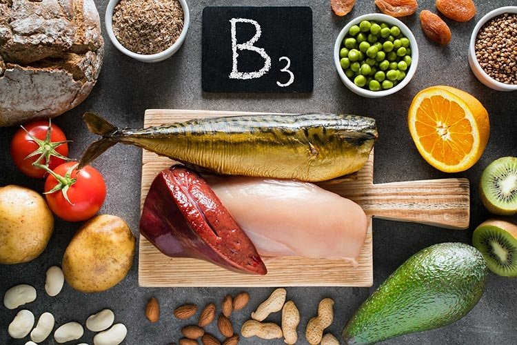 Aliments sources de vitamine B3 niacine Nutrixeal Info
