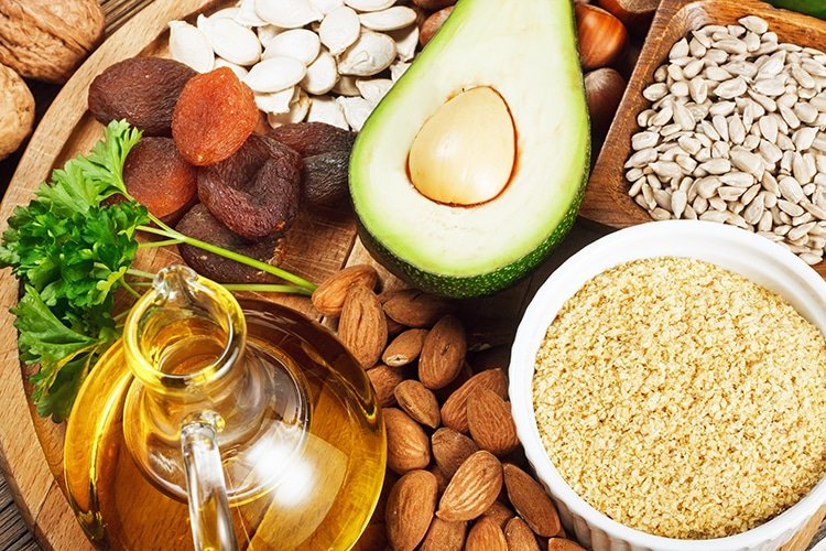 Aliments sources vitamine E Nutrixeal Info