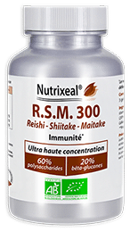 RSM Reishi Shiitake Maitake Nutrixeal haute concentration
