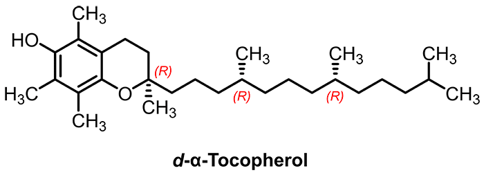 tocopherol structure Nutrixeal Info