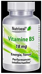 vitamine B5 acide pantothenique Nutrixeal Info