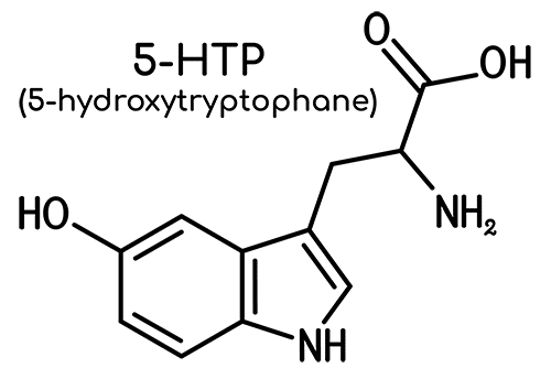 structure 5-htp 5hydroxytryptophane Nutrixeal Info