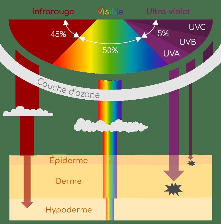 rayon UV soleil et nutraceutique Nutrixeal Info
